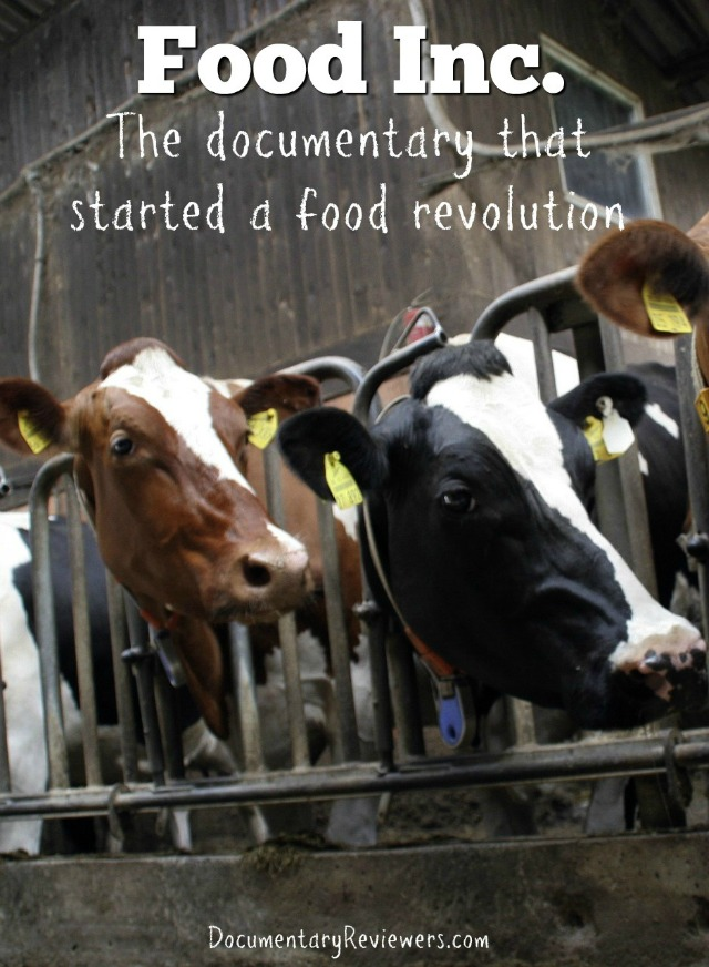 Food Inc is an extremely powerful food documentary that everyone should see! It is one of the first health documentaries to enter the mainstream and for good reason - it's amazing!