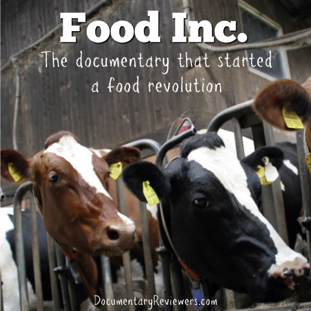 Food Inc is one of the first and most powerful food documentaries to enter the mainstream. It's one that everyone should be watching!