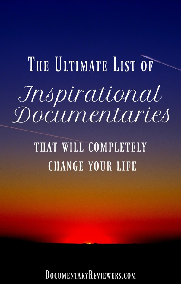 These are the absolute best inspirational documentaries that you can find anywhere, whether Netflix, Amazon Prime, HBO, or Hulu. These life-changing documentaries will all make you think differently and motivate whatever change you need in your life.