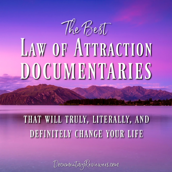 These Law of Attraction documentaries are absolutely unbelievable! They all have the power to change your life and a lot of these are Netflix documentaries, so they're easy to watch!