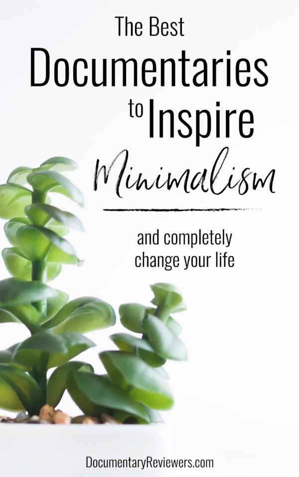 These amazing documentaries will inspire minimalism in your life to clear your mind and home!  They're perfect inspiration when you feel overwhelmed!